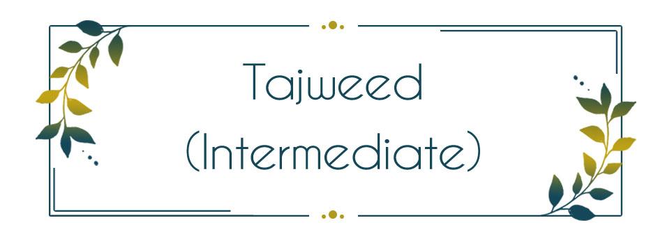 Tajweed in Quran Recitation - Intermediate